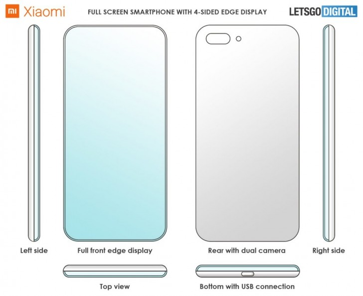 Xiaomi Registra Patente de Smarphone com 4 Bordas Curvadas eu sou android