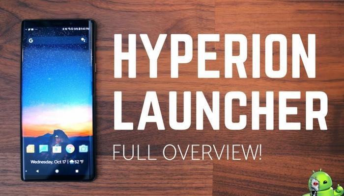hyperion launcher