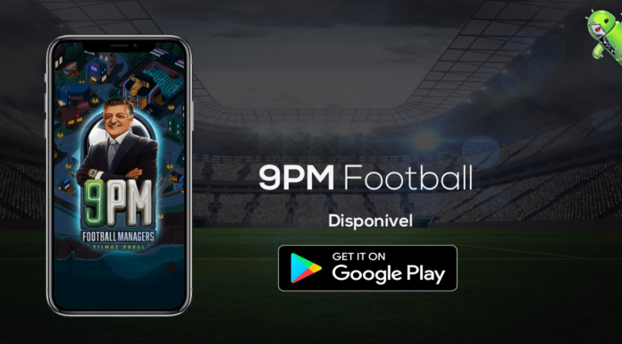 9PM Football Managers Disponível na Google Play