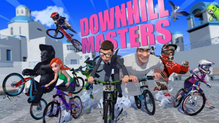 Downhill Masters Disponível na Google Play