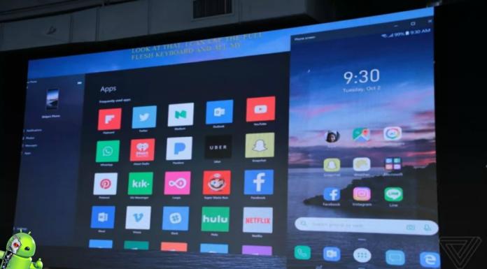 Espelhamento de tela do Windows 10 para Android está chegando em passos lentos