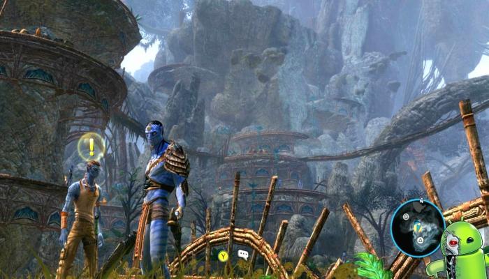 James cameron Avatar the game