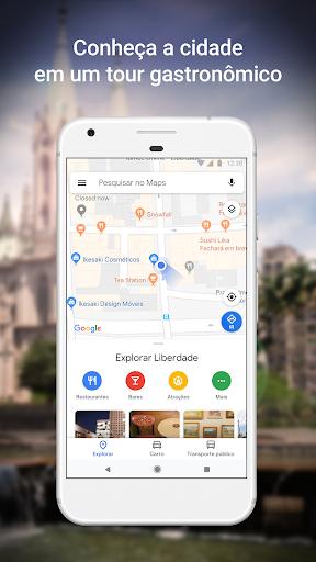 Maps - Navegação e transporte público