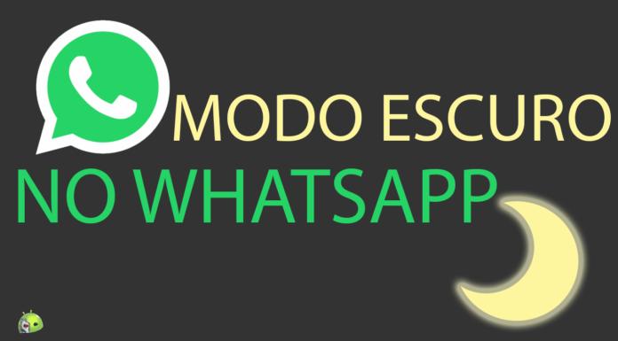 Modo Escuro Está Chegando ao WhatApp! CAPA