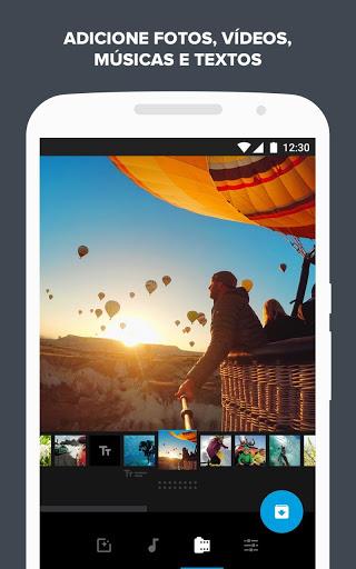Quik - Editor de Vídeo da GoPro para fotos, clipes