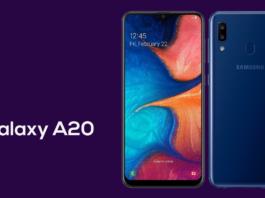 Samsung Galaxy A20 é anunciado oficialmente