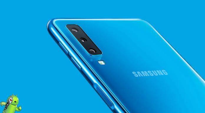 Samsung Galaxy A7 2018 está recebendo atualização para o Android Pie