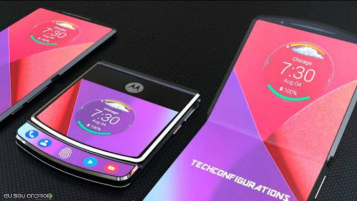 Vazam recursos do smartphone dobrável da Motorola Razr
