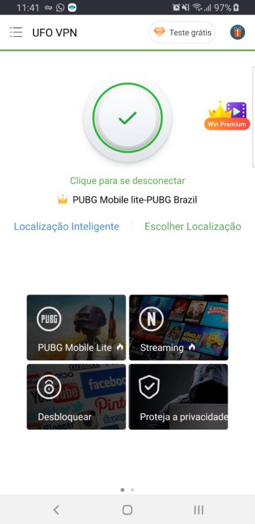 Melhor VPN para Android LIBERA PUBG LITE e NETFLIX DOS ESTADOS