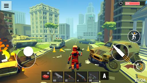 4 GUNS 3D Pixel Shooter