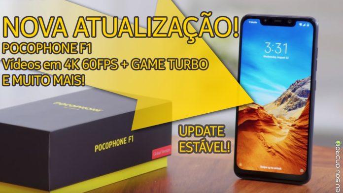 Atualização Estável do Pocophone com Vídeos em 4K 60FPS, Game Turbo e Netflix em HD foi Liberada Oficialmente CAPA