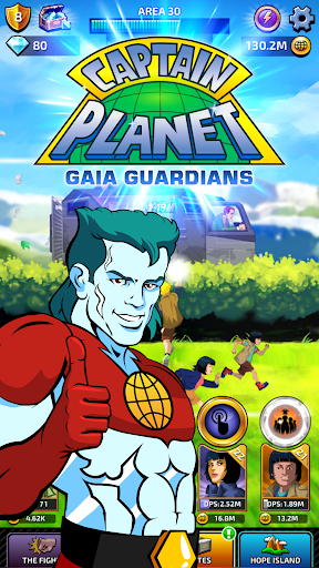 Captain Planet Gaia Guardians