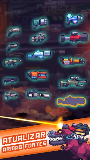 Cat Gunner Super Força (Pixel Zombie Shooter)