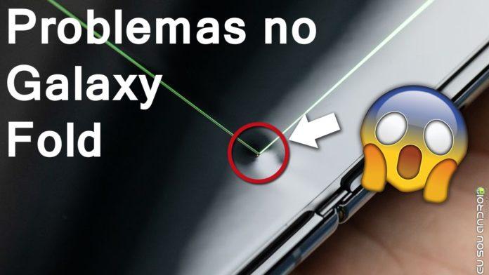 Frágil Galaxy Fold já foi Quebrado por Testadores Que o Receberam Antecipadamente capa