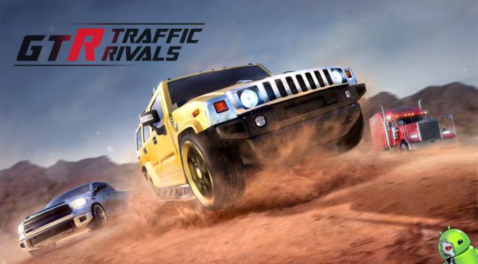 GTR Traffic Rivals Disponível para Android