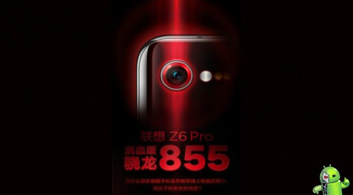 Lenovo Z6 Pro chegando com Snapdragon 855