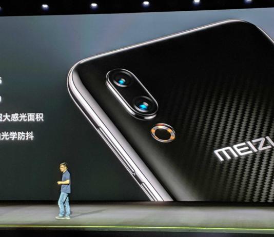 Meizu 16s é revelado com câmera dupla e Snapdragon 855
