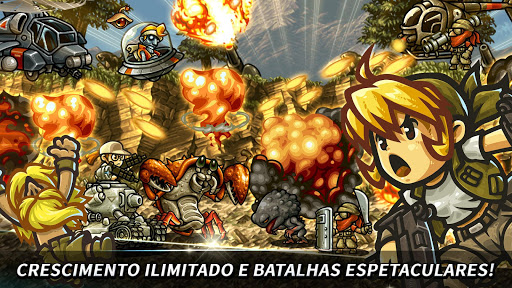 Metal Slug Infinity Idle Tap Game & Retro 2D RPG