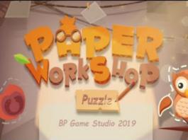 Paper Puzzle Workshop Disponível para Android