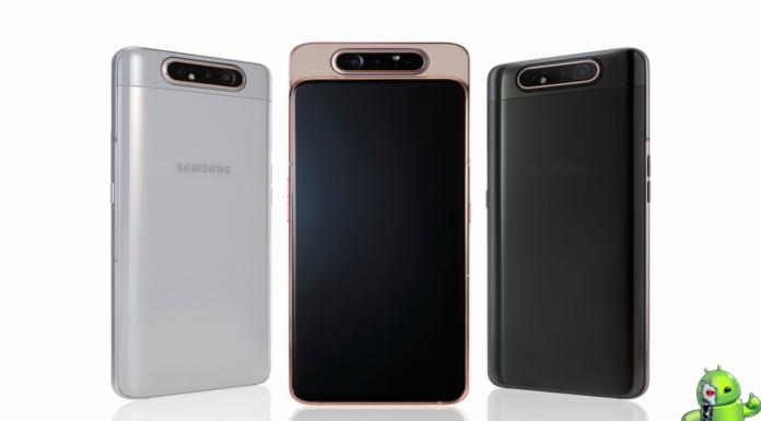 Samsung Galaxy A80 é oficial com câmera rotativa