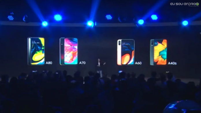 Samsung anuncia o Galaxy A60 e Galaxy A40s