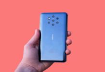 Sensor de impressão digital do Nokia 9 PureView foi enganado por pacote de goma de mascar