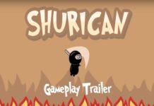 Shurican! Pule e lute! Disponível para Android