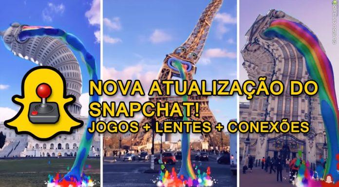 Snapchat Agora tem Jogos e Snapchat Originals!