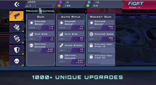 Uprising: Cyberpunk 3D Action Game