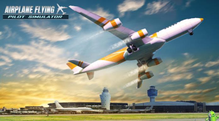 Avião Vôo Piloto Simulador Disponível para Android