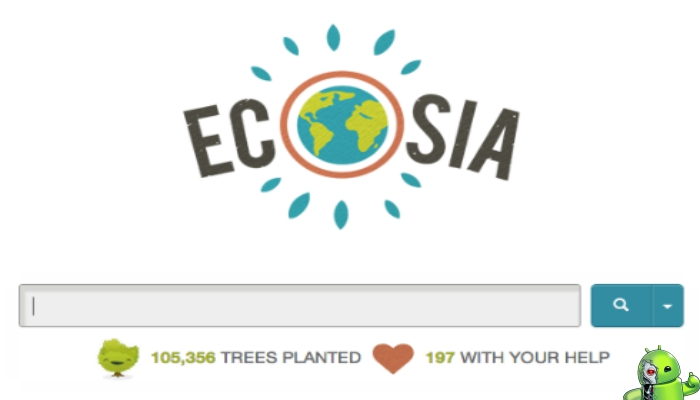 Ecosia - Árvores Privacidade