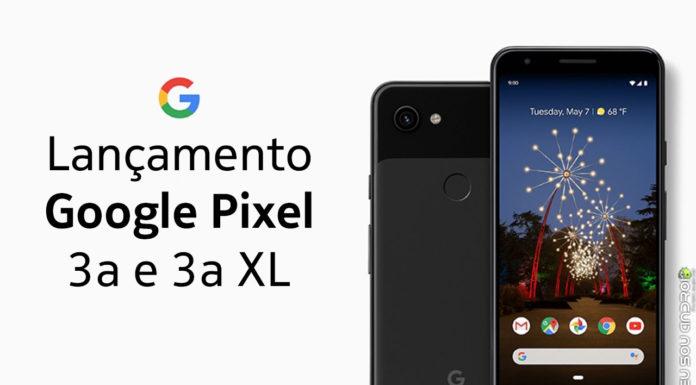 Estes São Os Novos Pixel 3a e 3a XL capa