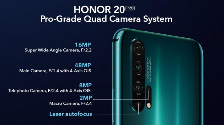 Honor 20 e Honor 20 Pro