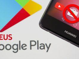 Huawei Já Está se Preparando para Abandonar o Android e a Google Play CAPA