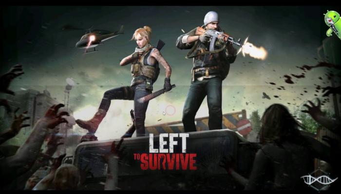Left to Survive: PvP Jogo de tiro com zumbis