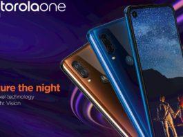 Motorola One Vision é Lançado Oficialmente no Brasil capa