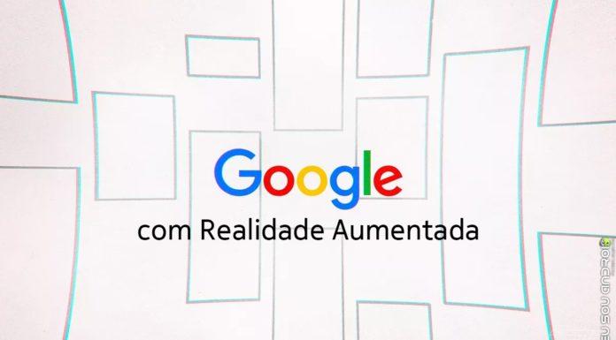 Pesquisa do Google Terá Recursos de Realidade Aumentada! capa