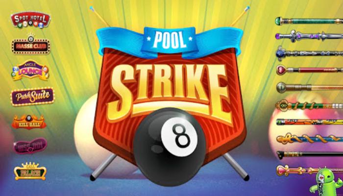 Pool Strike jogo sinuca online 8 ball pool gratis