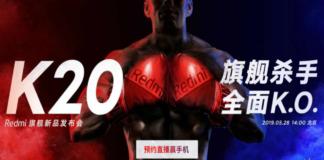 Redmi K20 chegando em 28 de maio com câmera de 48 MP
