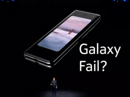 Samsung Cancela Entregas do Galaxy Fold Indefinidamente capa