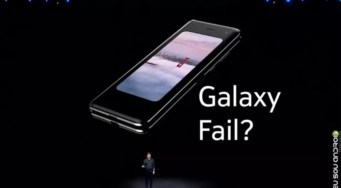 Samsung Cancela Entregas do Galaxy Fold Indefinidamente capa