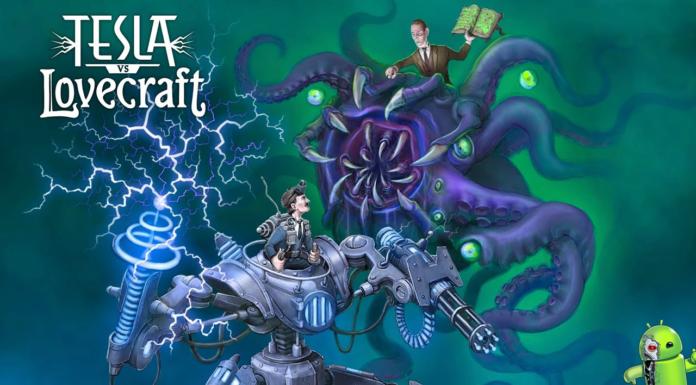 Tesla vs Lovecraft Disponível para Android