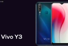 Vivo Y3 é oficial com Helio P35 e câmeras traseiras triplas