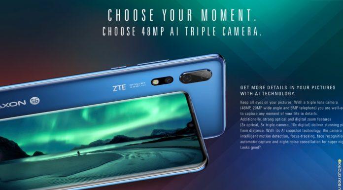 ZTE AXON 10 PRO capa eu sou android