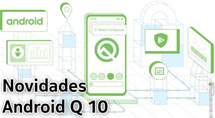 novidades android q 10 desligamento de tela adaptativo capa
