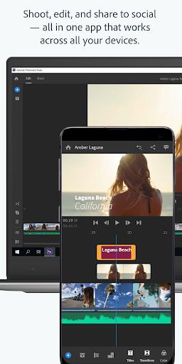 Adobe Premiere Rush — Video Editor