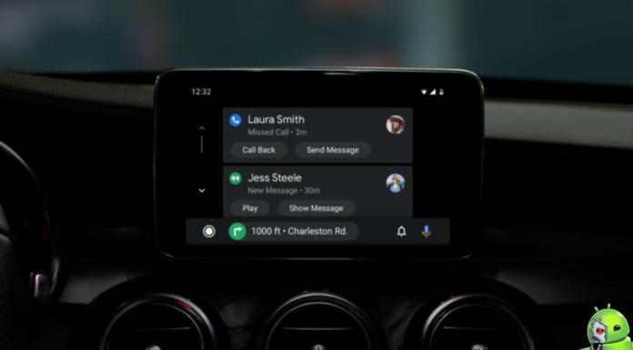 Android Auto está recebendo um novo visual e modo escuro
