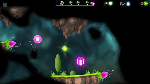 Flora and the Darkness - beautiful 2D platformer