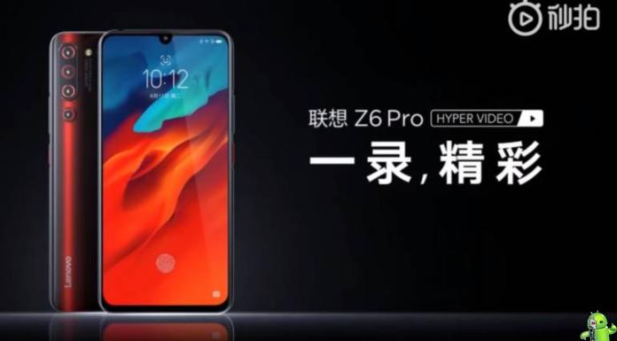Lenovo Z6 Pro 5G Edition é anunciado