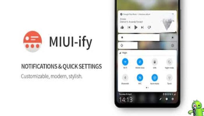 MIUI-ify - Notificações e configurações rápidas